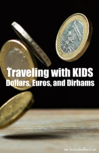 euros coins, Travel with KIDS - money,