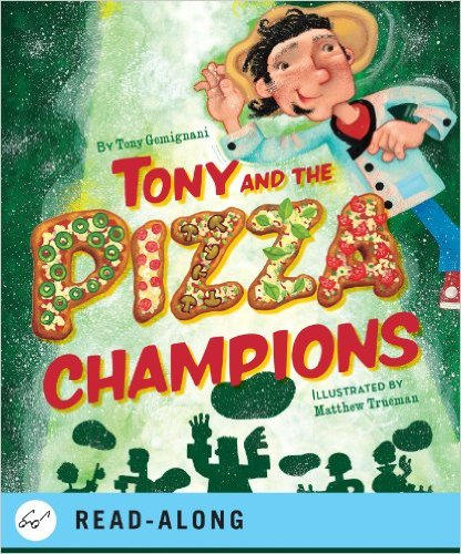 Tony and the Pizza Champions, Kids' Books Set in Italy www.theeducationaltourist.com