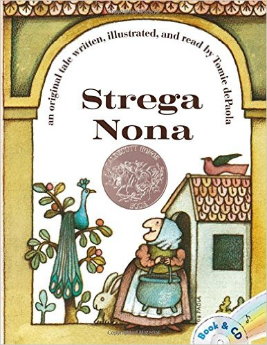 Strega Nona, Kids' Books set in Italy www.theeducationaltourist.com
