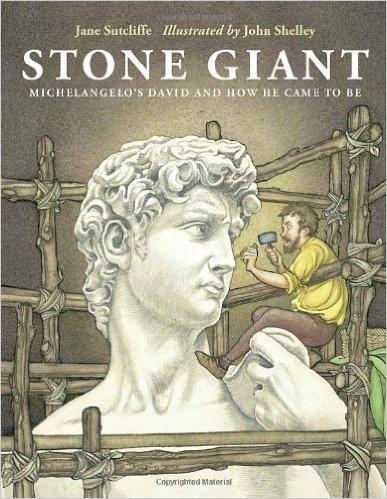 Stone Giant: Michelangelo's David, Kids' Books Set in Italy, www.theeducationaltourist.com