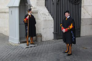 Swiss Guard, Visit Vatican City with KIDS, www.theeducationaltourist.com