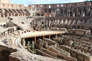 Rome's colosseum, Visit Rome, www.theeducationaltourist.com