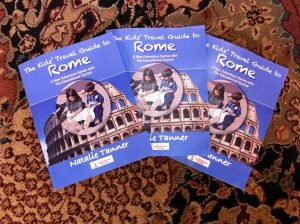 The Educational Tourist's book The Kids' Travel Guide to Rome, Colosseum, www.theeducationaltourist.com