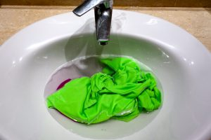Wet clothes in the sink, Travel Laundry, www.theeducationaltourist.com