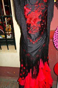 red and black flamenco dress, Flamenco, www.theeducationaltourist.com