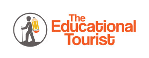 The Educational Tourist logo, Travel on the Cheap, www.theeducationaltourist.com