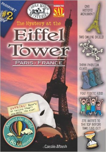 The Mystery at the Eiffel Tower: Kids' Books Set in Paris www.theeducationaltourist.com
