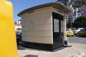 free standing toilet in Gibraltar