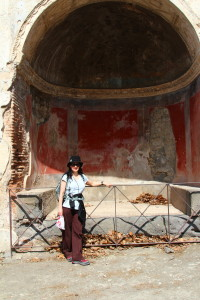 tomb in Pompeii, Plan the Perfect Trip, www.theeducationaltourist.com
