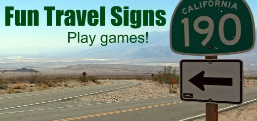 Fun Travel Signs, www.theeducationaltourist.com