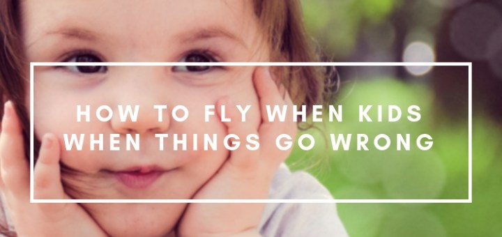 toddler smiling outside, how to fly with kids