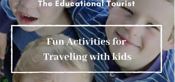 3 boys, amazing travel activities for boys
