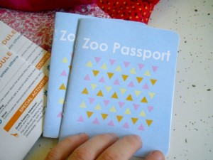zoo passports from We Wilsons, Road Trip games