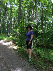 The Educational Tourist in maple tree forest, Canada Travel Itinerary, www.theeducationaltourist.com
