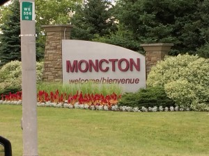 Moncton Canada welcome sign, Canada Travel Itinerary, www.theeducationaltourist.com