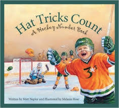 Hat Tricks Count: A Hockey Number Book by Matt Napier, Kids' Books set in Canada, www.theeducationaltourist.com