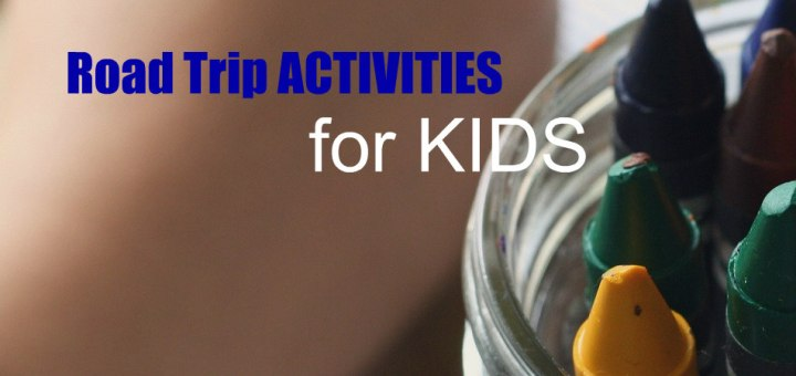child using crayons, Road Trip Activities, www.theeducationaltourist.com