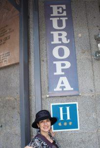 Choosing a hotel: Europa Madrid