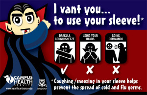 Campus Health PSA announcement, Airplanes and Germs, www.theeducationaltourist.com