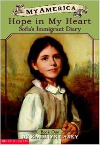 My America: Hope in My Heart, Sophia's Island Diary, Kids' Books set in New York City, www.theeduationaltourist.com