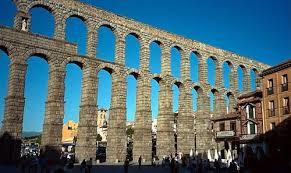 Aquaduct in Segovia, Visit Madrid, www.theeducationaltourist.com