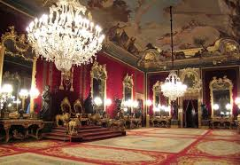 throne room in Madrid's royal palace, Visit Madrid, www.theeducationaltourist.com