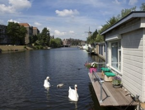 houseboat rental in amsterdam, unusual hotels with kids