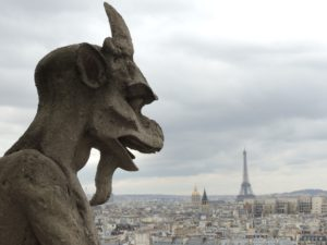 Gargoyle on Notre Dame, Things to See in Paris, Www.theeducationaltourist.com