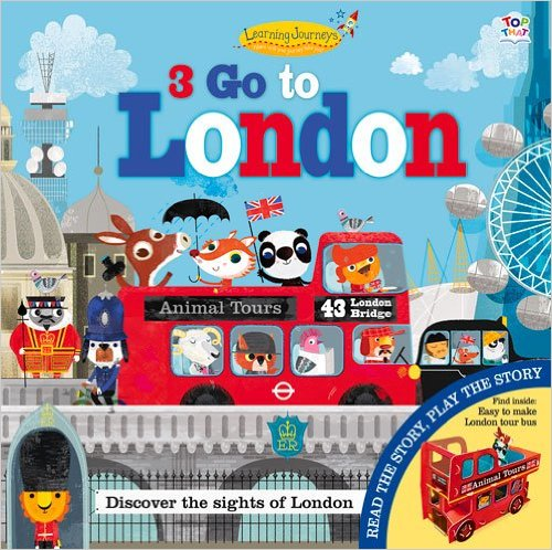 3 Go to London, Kids' Books set in London, www.theeducationaltourist.com
