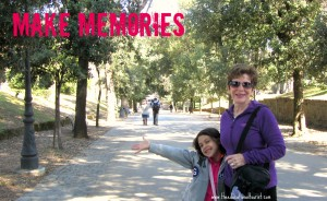 grandmother and child, travel myths