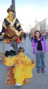 Street performer Plaza del Sol in Madrid, Visit Madrid, www.theeducationaltourist.com