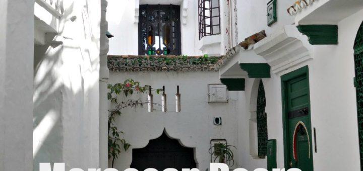 Alley way in Tangier, Morocco Kasbah, Moroccan Doors, www.theeducationaltourist.com