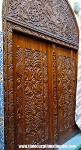 carved wooden door, Moroccan Doors, www.theeducationaltourist.com