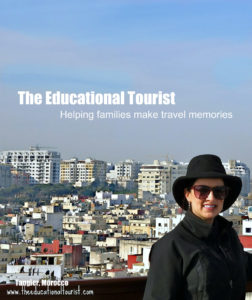 The Educational Tourist in Tangier, Morocco, Moroccan Doors, www.theeducationaltourist.com