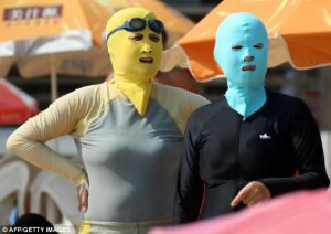 Cultural norms; Face-kini