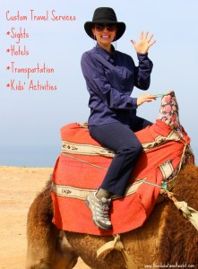 The Educational Tourist on a camel in Morocco, I'd rather be... , www.theeducationaltourist.com