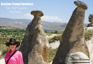 No air conditioning : cappadocia fairy chimneys