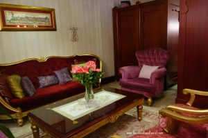 Sitting Room, Sirkeci Mansion Istanbul, www.theeducationaltourist.com