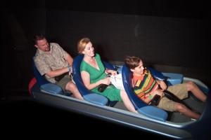 family on Disney ride, Disney Made Easy, www.theeducationaltourist.com