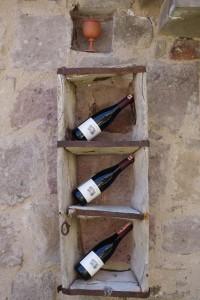 wine display cave hotel Turkey, Taskonaklar Hotel , www.theeducationaltourist.com