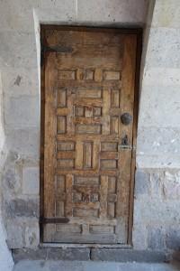 antique door Cappadocia Turkey, Taskonaklar Hotel, www.theeducationaltourist.com