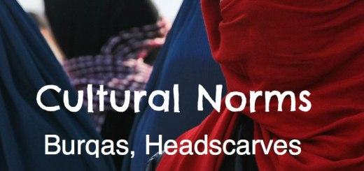 Cultural Norms: Burqa, Headscarf, Rashguard