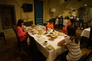 Family Dinner Time - Cappadocia, Turkey