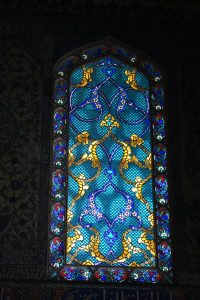 Turkey Photo Essay stained glass in Topkapi Palace Istanbul