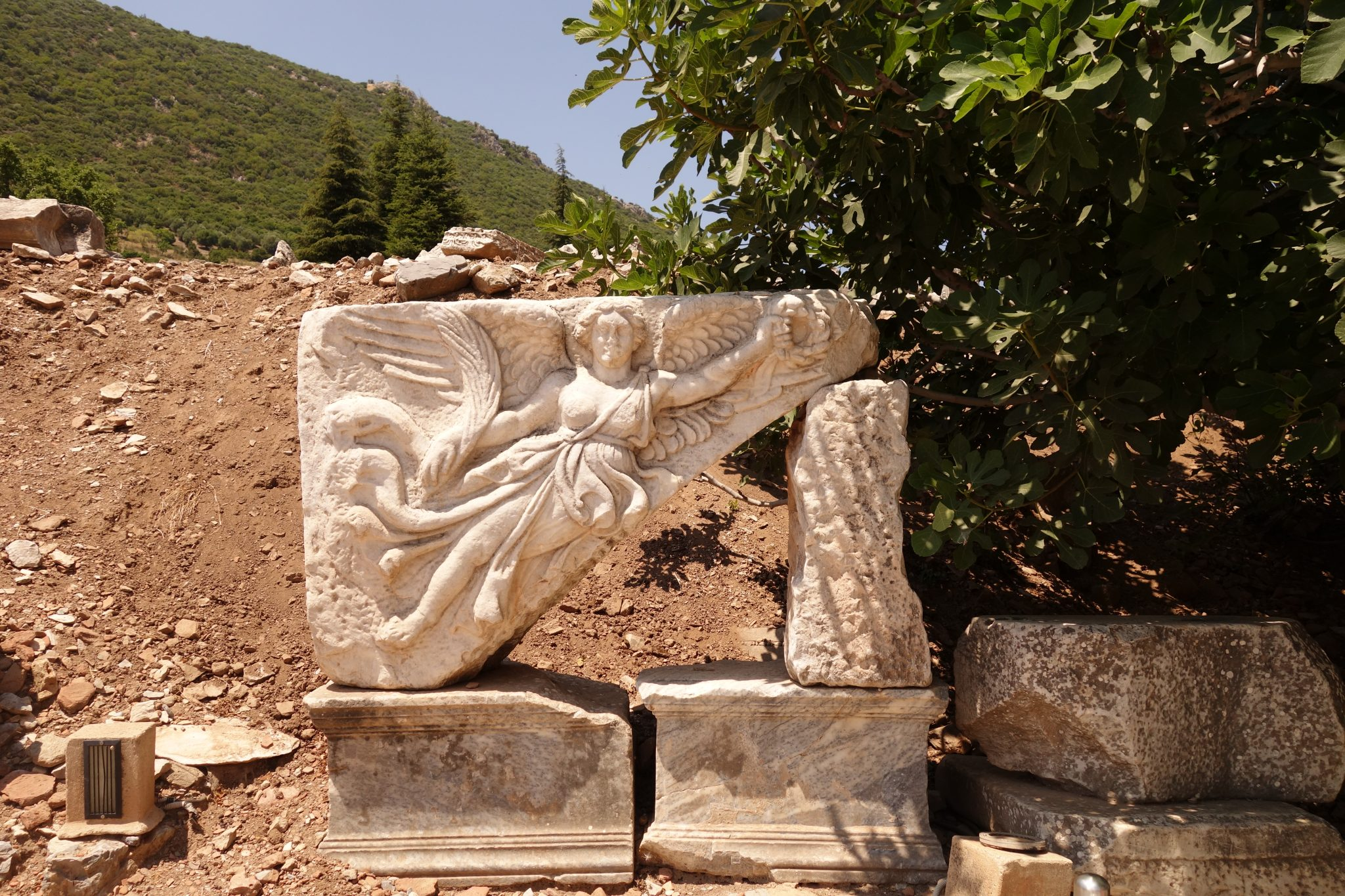turkey photo essay family adventure the educational tourist touch things make it the perfect spot for families traveling kids be sure to point out this frieze of nike the familiar nike swoosh is her wing