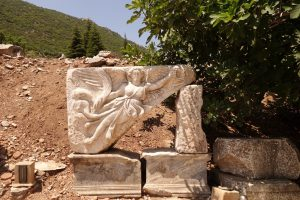 Turkey Photo Essay Nike frieze in Ephesus Turkey