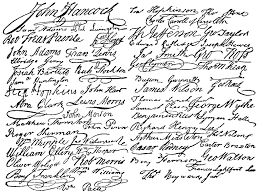 signatures declaration independence