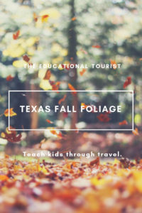 fall foliage, where to see in Texas