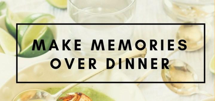 green shrimp soup, family dinners