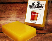 beer scented soap, photo from man hands soap, Gift Ideas for Guy Travelers, www.theeducationaltourist.com